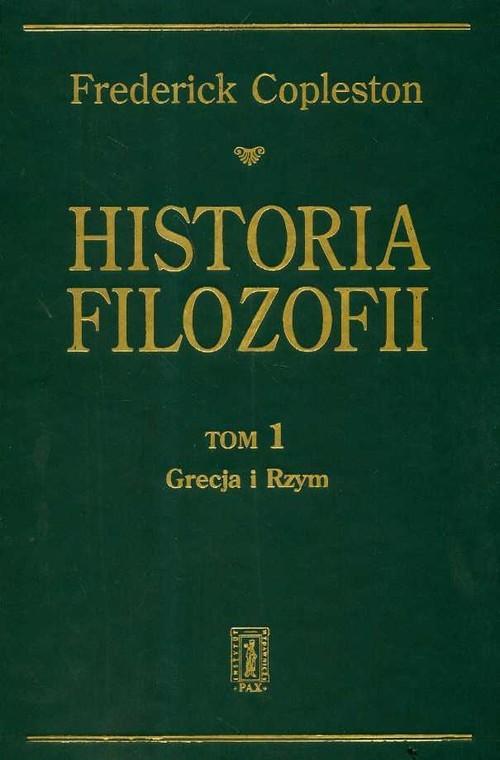 okładka Historia filozofii t.1, Książka | Copleston Frederick
