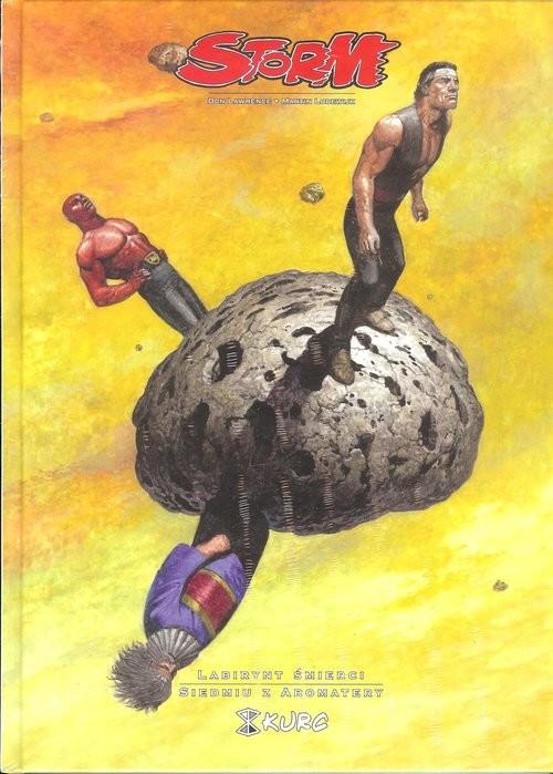 okładka Storm 6 Labirynt śmierci Siedmiu z Aromatery, Książka | Don Lawrence, Martin Lodewijk