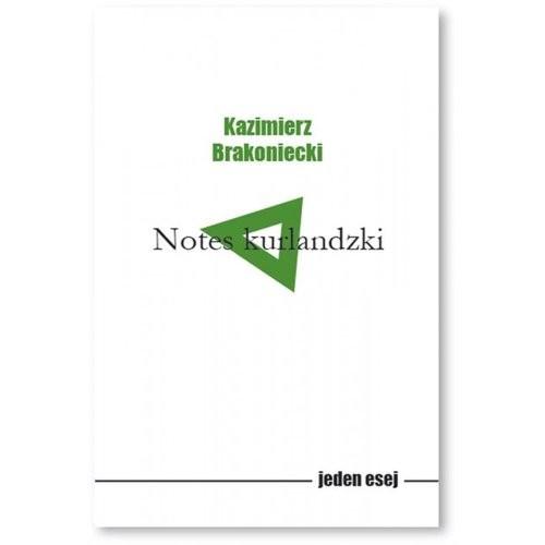 okładka Notes kurlandzki, Książka | Kazimierz  Brakoniecki