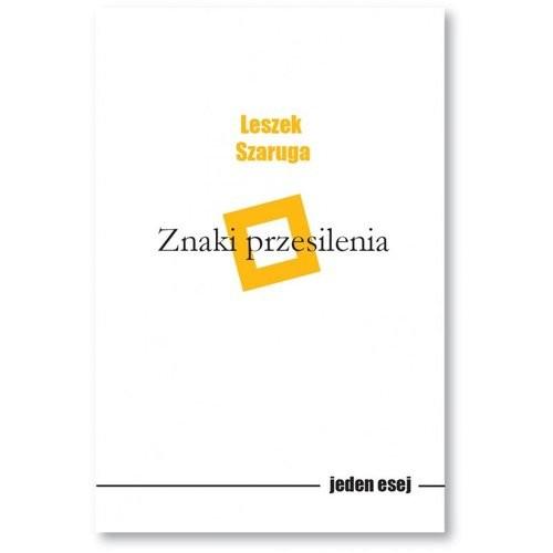 okładka Znaki przesilenia, Książka | Leszek  Szaruga
