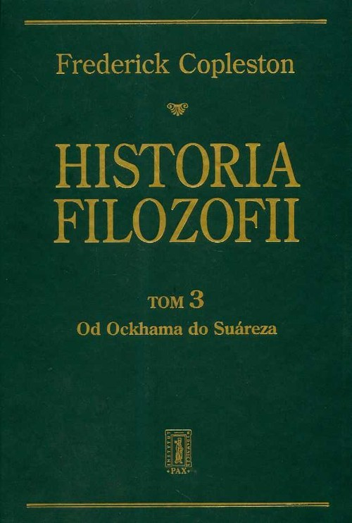 okładka Historia filozofii t.3książka |  | Copleston Frederick