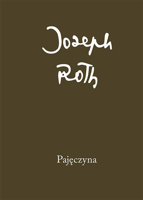 okładka Pajęczyna, Książka | Joseph Roth