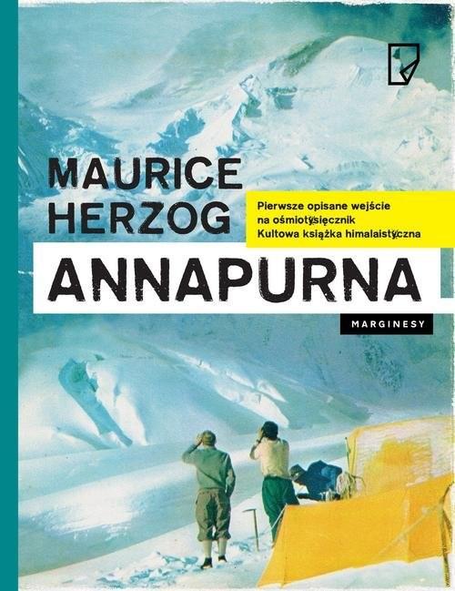okładka Annapurna. KsiążkaHerzog Maurice