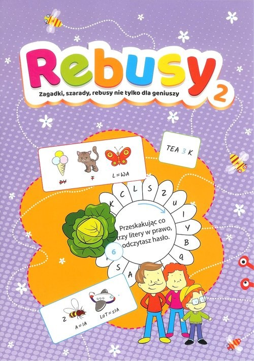 okładka Rebusy 2 Zagadki, szarady, rebusy nie tylko dla geniuszy, Książka  