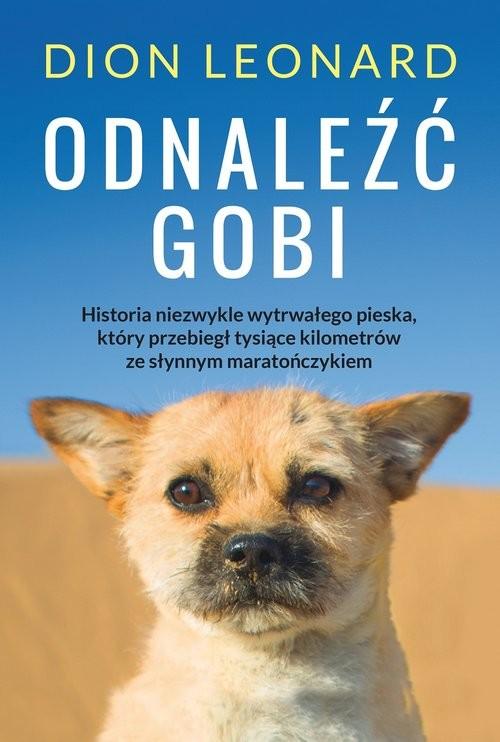 okładka Odnaleźć Gobi, Książka | Dion Leonard