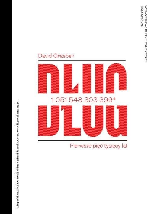 okładka Dług Pierwsze pięć tysięcy lat, Książka | Graeber David