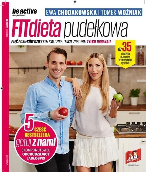 okładka be active. FITdieta pudełkowa, Książka   Ewa Chodakowska, Tomek Woźniak