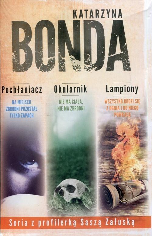 okładka Pochłaniacz / Okularnik / Lampiony Pakiet, Książka | Bonda Katarzyna