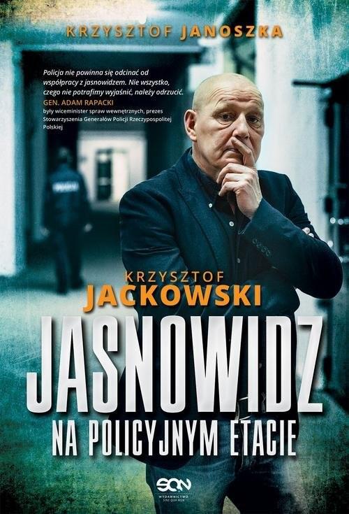 okładka Jasnowidz na policyjnym etacie, Książka | Krzysztof Jackowski, Krzysztof Janoszka
