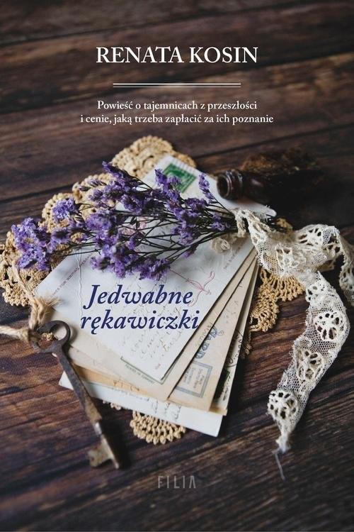 okładka Jedwabne rękawiczki, Książka   Kosin Renata