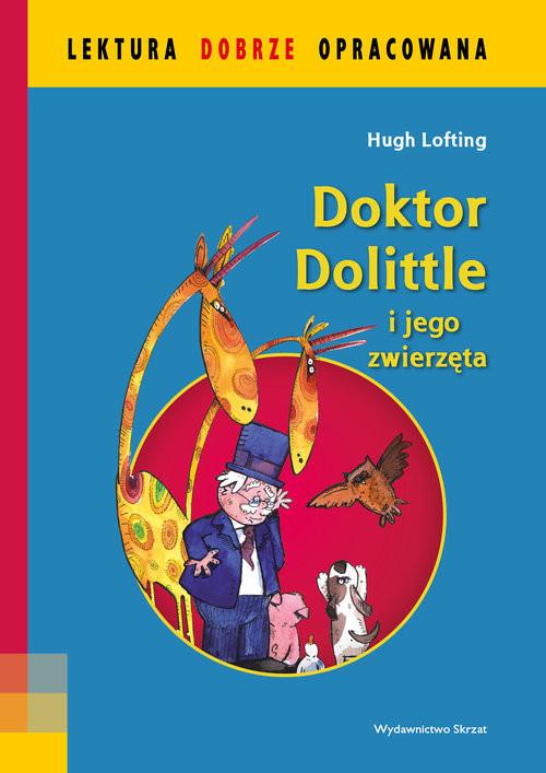 okładka Doktor Dolittle i jego zwierzętaksiążka      Lofting Hugh