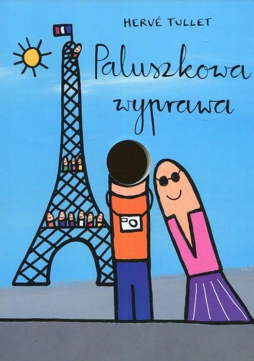 okładka Paluszkowa wyprawa, Książka | Tullet Herve