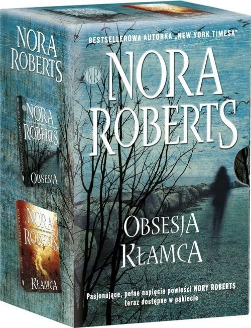 okładka Kłamca / Obsesja Pakiet, Książka | Roberts Nora