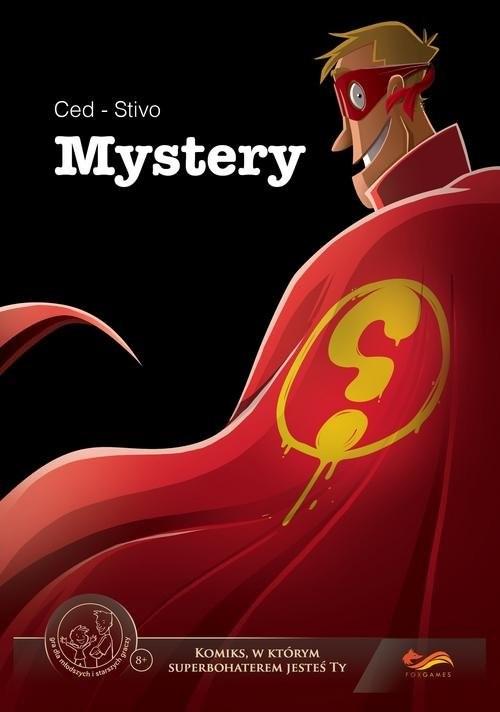 okładka Mystery Komiksy paragrafowe, Książka | Ced Stivo, praca zbiorowa
