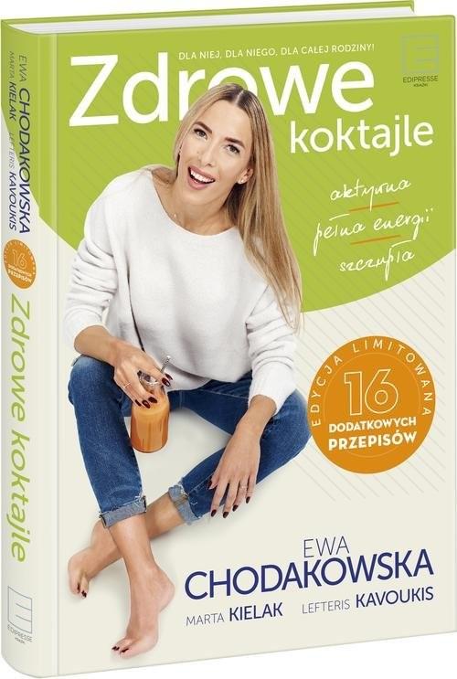 okładka Zdrowe koktajle, Książka   Ewa Chodakowska