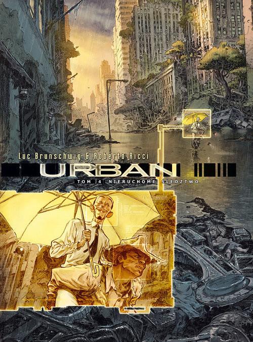okładka Urban 4 Nieruchome śledztwo, Książka | Luc Brunschwig