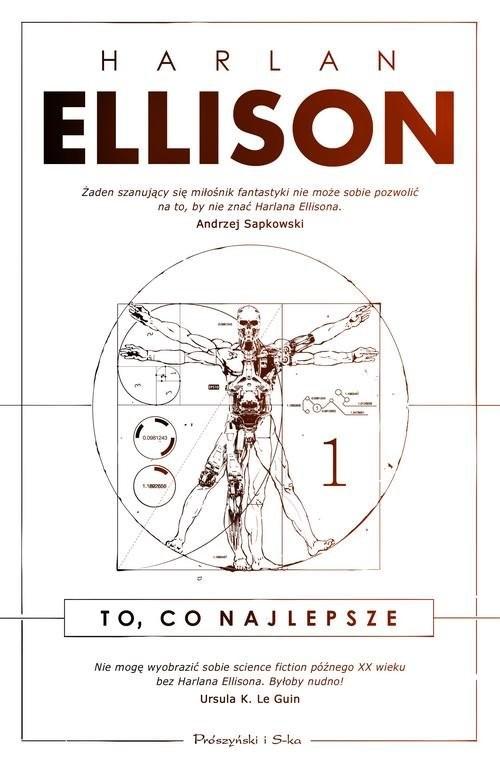 okładka To co najlepsze Tom 1, Książka   Harlan Ellison