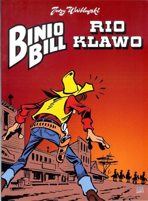 okładka Binio Bill Rio klawo, Książka   Wróblewski Jerzy