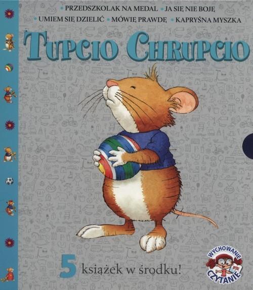 okładka Tupcio Chrupcio 5 książek w środku Pakiet, Książka | Piotrowska Eliza
