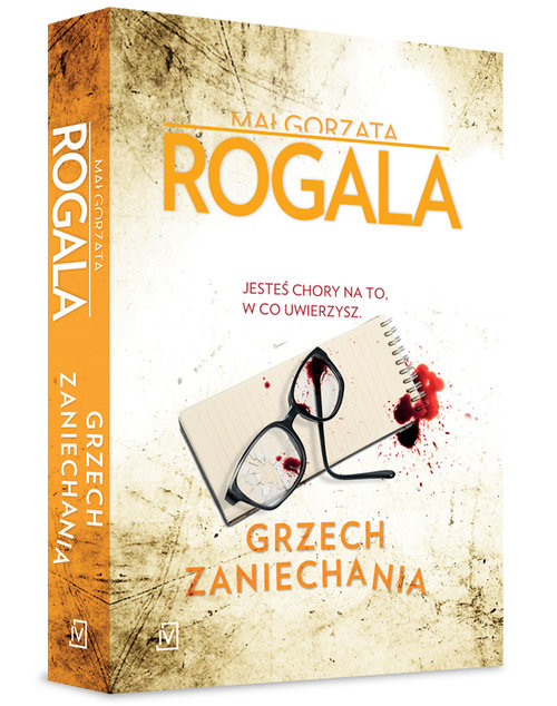 okładka Grzech zaniechania, Książka | Rogala Małgorzata