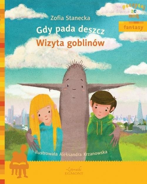 okładka Gdy pada deszcz Wizyta Goblinów, Książka | Stanecka Zofia
