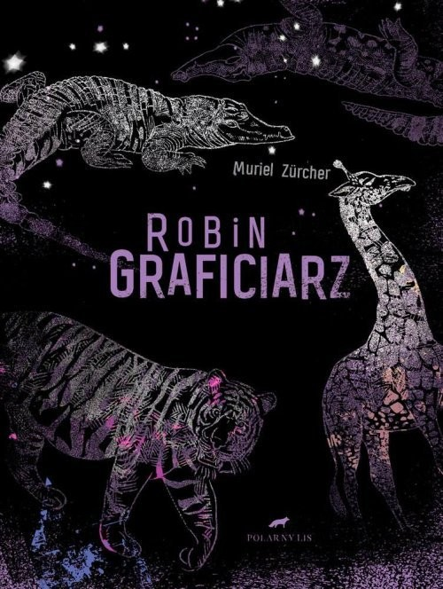 okładka Robin Graficiarz, Książka | Zucher Muriel