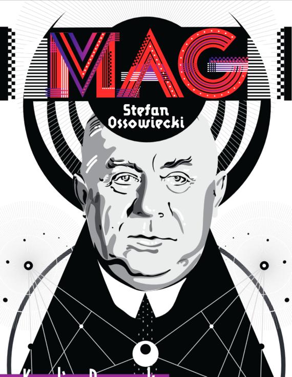 okładka Mag Stefan Ossowiecki, Książka | Prewęcka Karolina