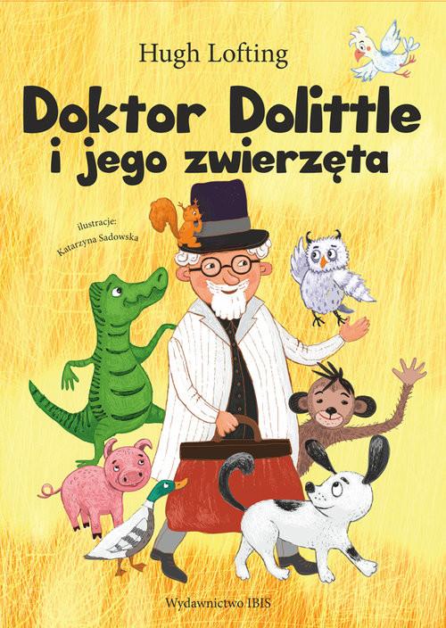 okładka Doktor Dolittle i jego zwierzęta, Książka | H. Loftin
