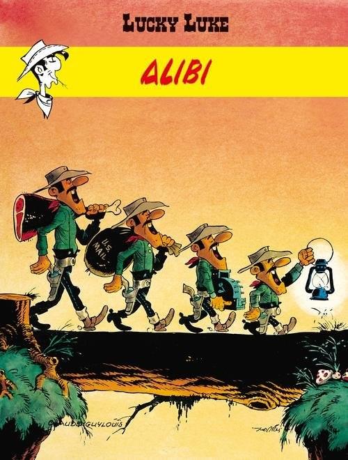 okładka Lucky Luke Alibi, Książka   Claude Guylouis, Morris