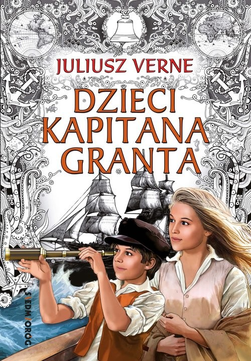 okładka Dzieci kapitana Granta, Książka | Verne Juliusz