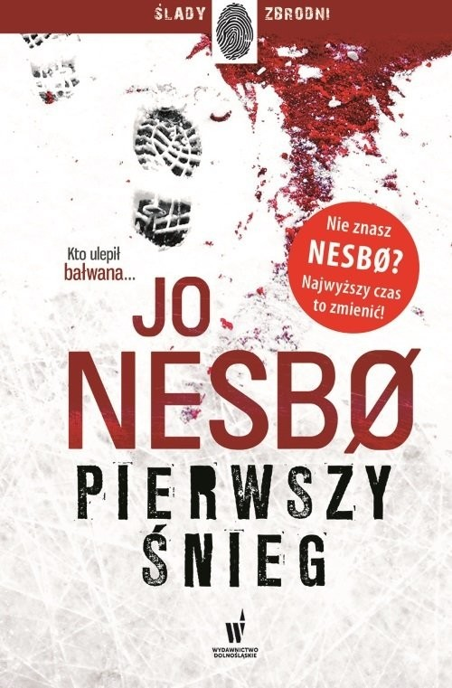 okładka Pierwszy śnieg, Książka | Nesbo Jo