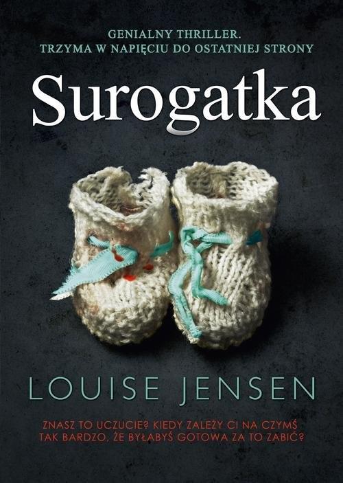 okładka Surogatka, Książka | Jensen Louise