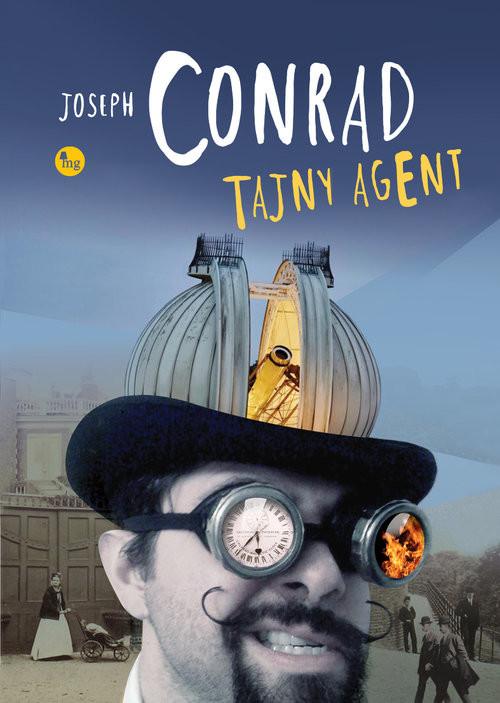okładka Tajny agent, Książka | Conrad Joseph