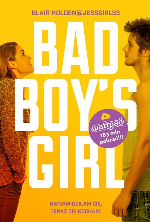 okładka Bad Boy's Girl, Książka | Blair  Holden