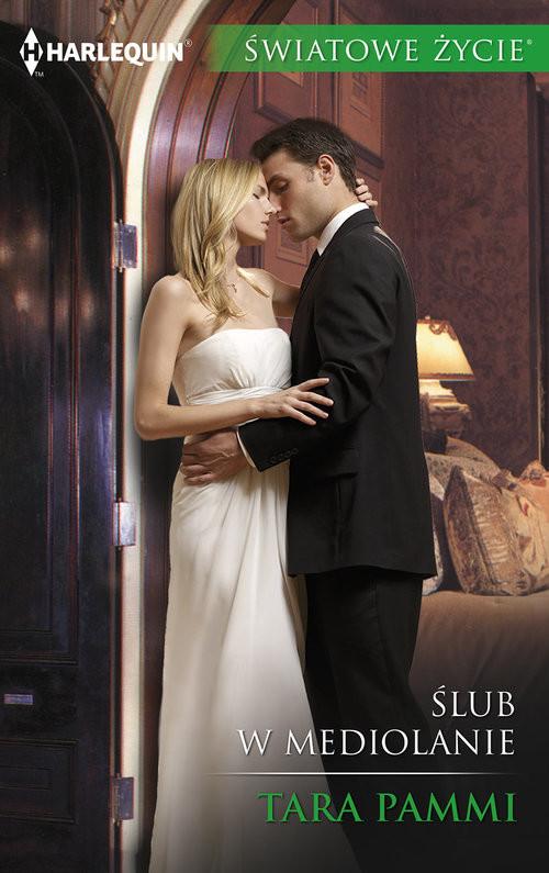 okładka Ślub w Mediolanie, Książka | Tara Pammi