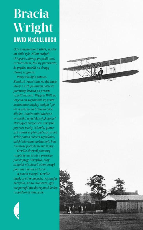 okładka Bracia Wright, Książka | David McCullough