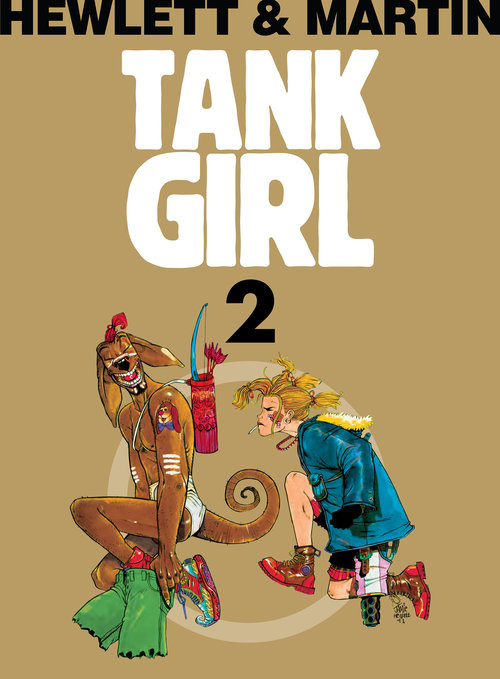 okładka Tank Girl Tom 2, Książka   Martin Alan
