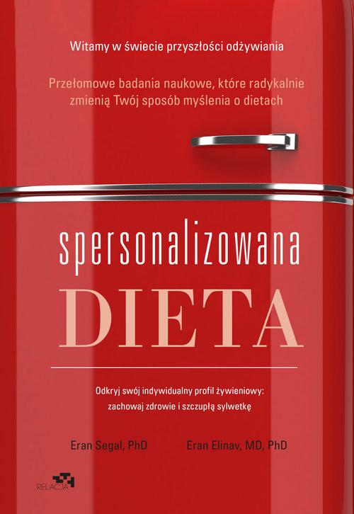 okładka Spersonalizowana dieta, Książka | Eran Segal, Eran Elinav