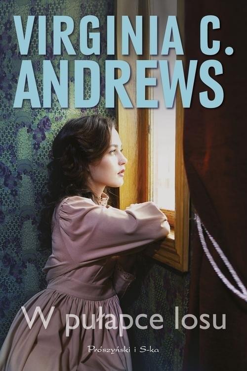 okładka W pułapce losu, Książka   Virginia C. Andrews