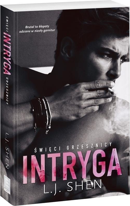 okładka Intryga, Książka | L.J. Shen