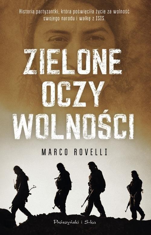 okładka Zielone oczy wolności, Książka | Marco Rovelli