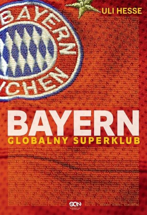 okładka Bayern Globalny superklub, Książka | Hesse Uli