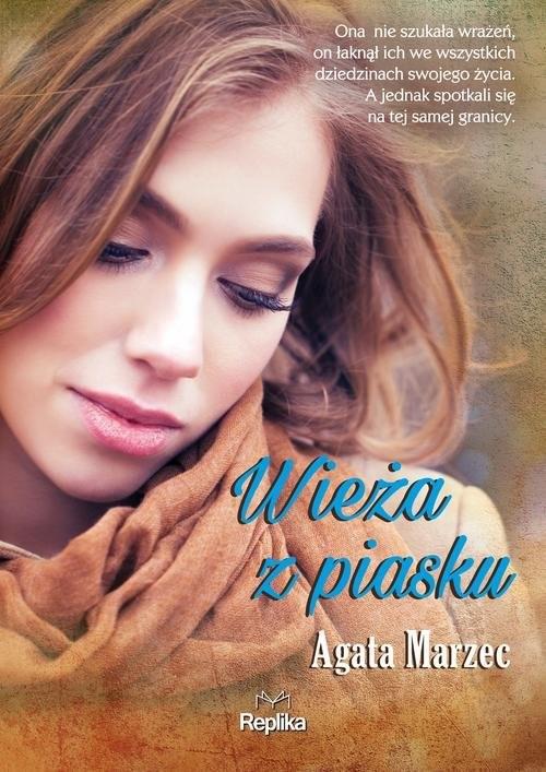 okładka Wieża z piasku, Książka | Agata  Marzec