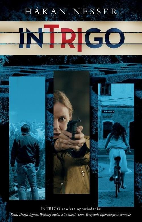 okładka Intrigo, Książka | Håkan Nesser