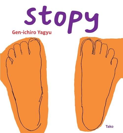 okładka Stopy, Książka | Yagyu Gen-ichiro