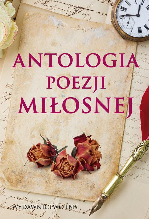 okładka Antologia poezji miłosnej, Książka |