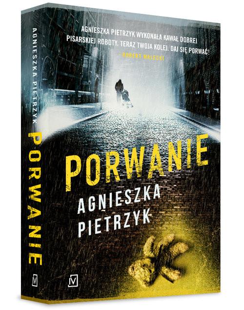 okładka Porwanie, Książka   Agnieszka Pietrzyk
