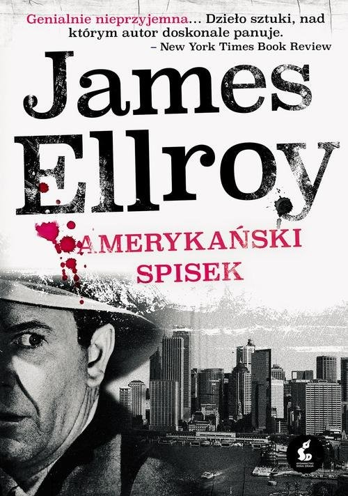 okładka Amerykański spisek, Książka | Ellroy James