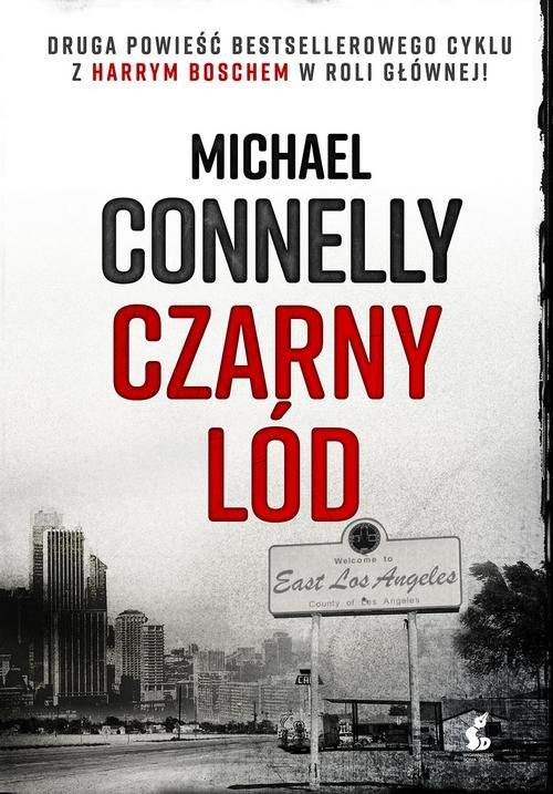 okładka Czarny lód, Książka | Connelly Michael