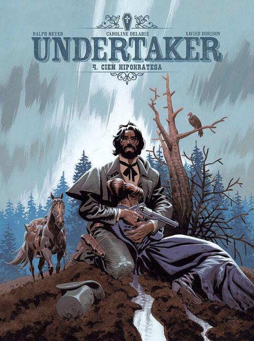 okładka Undertaker 4 Cień Hipokratesaksiążka      Ralph Meyer, Caroline Delabie, Xavier Dorison